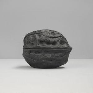 Walnut Secret Bowl | Black