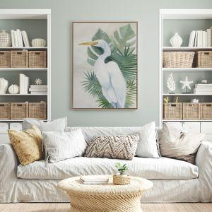 Wandering Egret II | Canvas Print