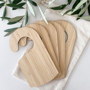 Wardrobe Divider Set - Bamboo