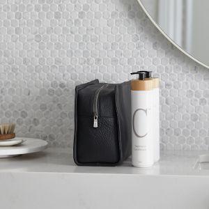 Wash-Bag   V&M Spa   Smokey Black