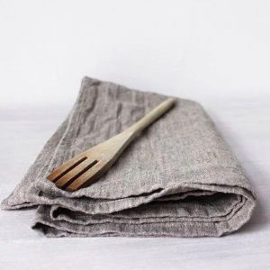 Washed Pure European Linen Extra Large Size Tea Towel