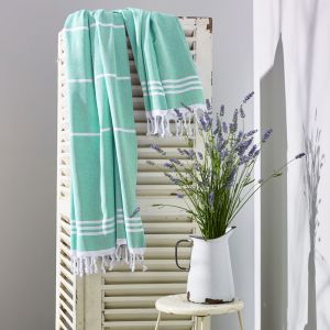 Wategos Turkish Towel | Various Colours | Mint & White