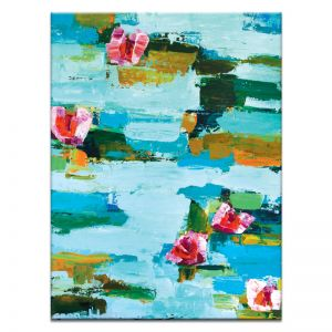 Water Lillies | Canvas or Print | Framed or Unframed