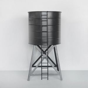 Water Tower Planter | Black