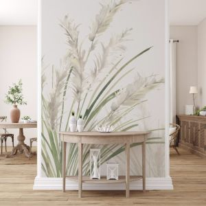 Watercolour Pampas Grass | WALLPAPER