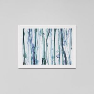 Waterfall Blue and Green | Framed Photographic Print