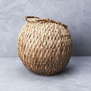 Waterhyacinth Cobra Basket with Handle l Pre Order