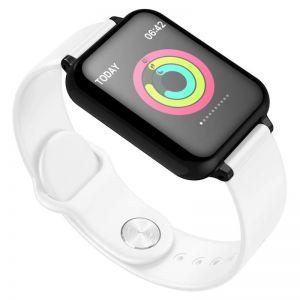 Waterproof Fitness Smart Wrist Watch Heart Rate Monitor Tracker White