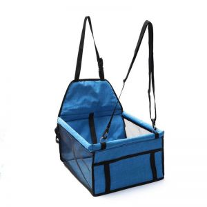 Waterproof Pet Booster Car Seat Breathable Mesh Safety Travel Portable Dog Carrier Bag