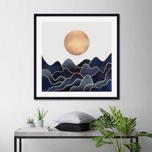 Waves by Elisabeth Fredriksson | Unframed Art Print