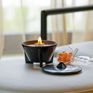 Waxburner Indoor CeraLava | by DENK Ceramics | Indoor CeraLava Waxburner + Hood