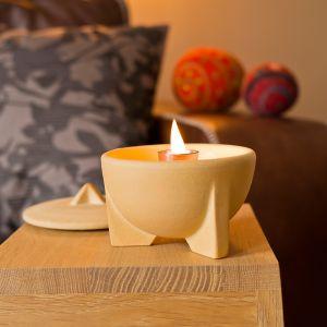 Waxburner Indoor CeraNatur | by DENK Ceramics | Indoor CeraNatur Waxburner ONLY