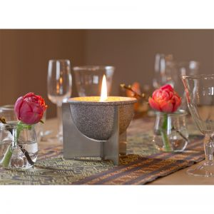 Waxburner Outdoor CeraNatur | by DENK Ceramics | Waxburner Outdoor CeraNatur + Lid