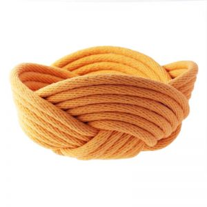 Weave Bowl   Mustard   CLU Living