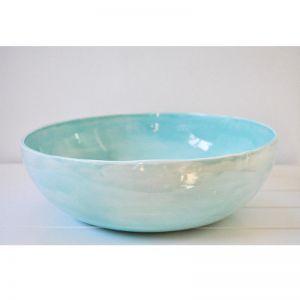 Welcome Bowl | Aqua | by Batch Ceramics