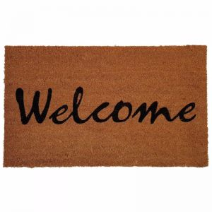 Welcome Doormat | Phthalate free PVC Backed Non-Slip Coir