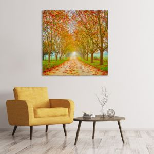 Welcome To Autumn | Canvas Print by Scott Leggo