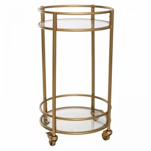 Westlight 2 Shelf Drinks Trolley | freedom