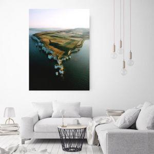 White Cliffs | Canvas Art by Hoxton Art House