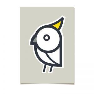 White Cockatoo | Silkscreen Print
