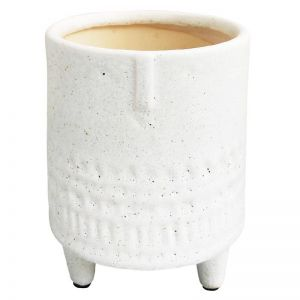 White Face Planter on Legs