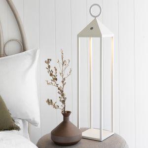 White Floor Standing Lamp | LITHIUM 2
