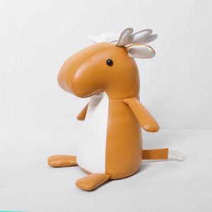 White Moose Kids Door Stop | Mike The Moose