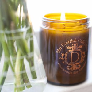 White Tea & Lemon Amber Jar Candle | Small