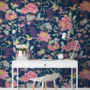Wild Garden | Vivid Floral Wallpaper