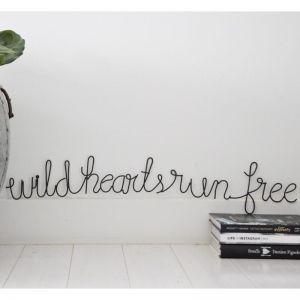 Wild Hearts Wire Words