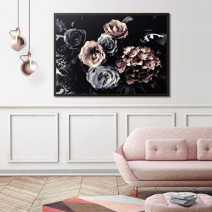 Wild Roses Bouquet | Canvas or Print