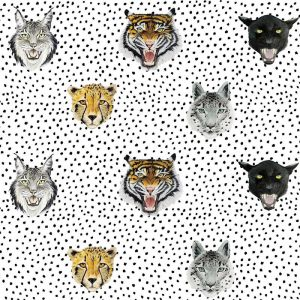 Wildcats Kids Wallpaper | Midnight Blue or White
