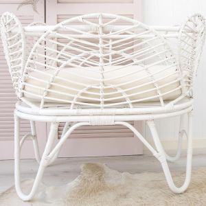 Willow Baby Bassinet | White