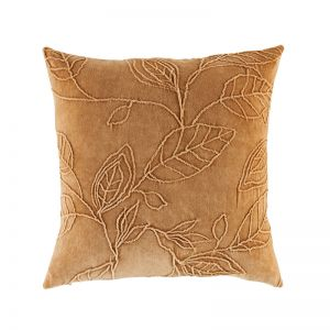 Willow Cushion by Kas Australia | Mustard