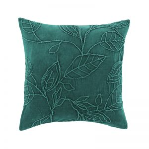 Willow Cushion by Kas Australia | Teal