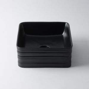 Willow Square by Eight Quarters I Matte Black