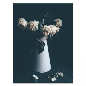 Wilted White Jug | Prints and Canvas