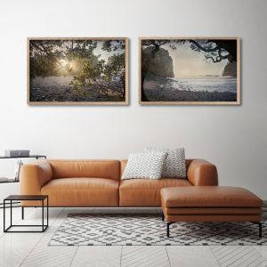 Window | Set of 2 Art Prints | Framed or Unframed