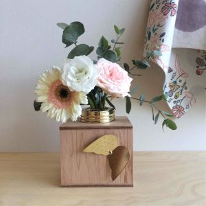 Wings | Flower Box | Brass