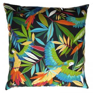 Wings of Night Outdoor Cushion Cover | Extra large 63cm