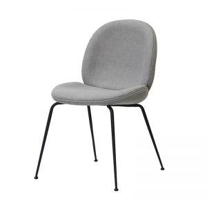 Winston Dining Chair | Grey with Black Legs by SATARA