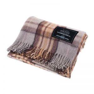 Winter - Recycled Wool Scottish Tartan Blanket