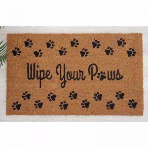 Wipe Your Paws Doormat | Phthalate Free PVC Backed Coir