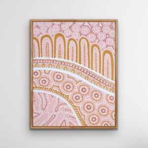 Wiradjuri Women | Framed Canvas Print
