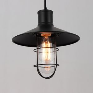 Wire Guard Industrial Pendant Lamp