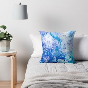 Wisteria | Art Cushion | Celeste Wrona