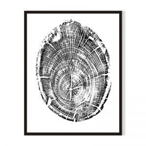 Wood 3 | Framed Print | Artefocus