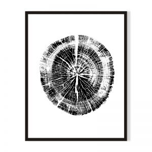 Wood 4 | Framed Print | Artefocus