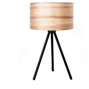 Wooden Ash Table Lamp | Modern Furniture