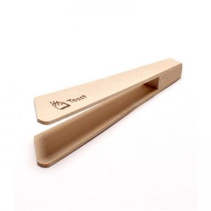 Wooden Toast Tongs